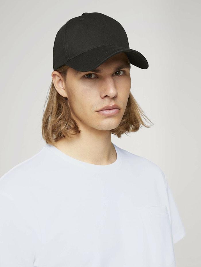 tom tailor denim - Basic Cap  Black