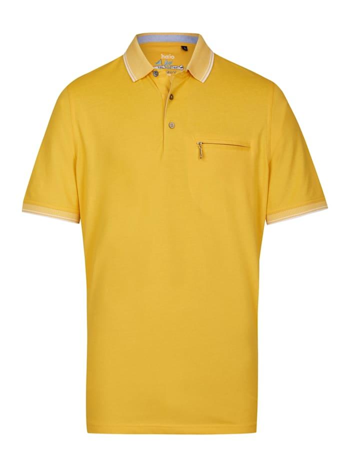 Poloshirt Hajo gelb