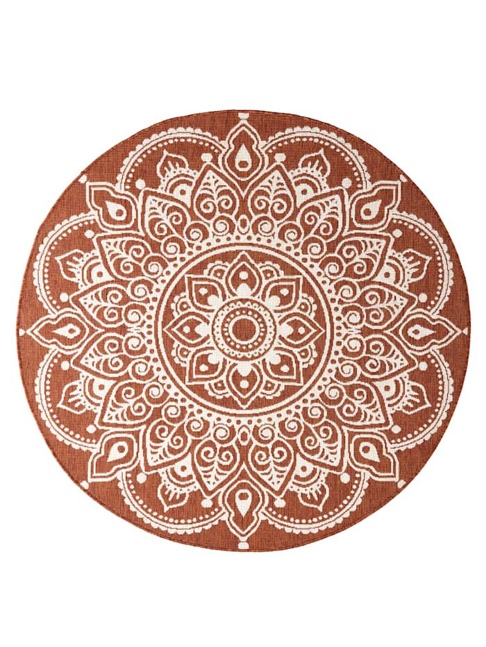 Image of Outdoorteppich 'Shirish' Webschatz Terracotta
