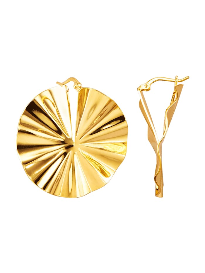 Oorbellen Golden Style Geelgoudkleur