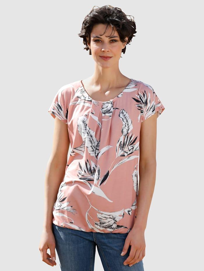 Shirt Dress In Roze
