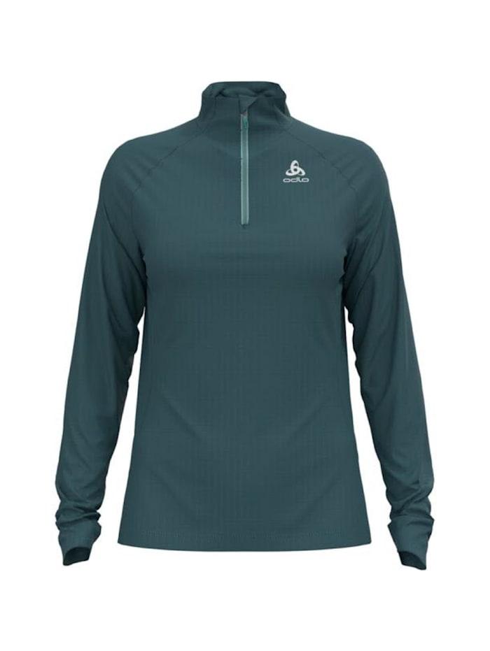 odlo -  Sweatshirt Essential 1/2 Zip Longsleeve  Grün