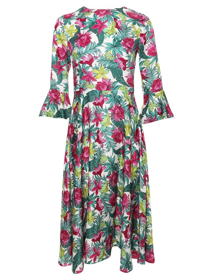 madam-t - Sommerkleid Juliette  milchig, rosa