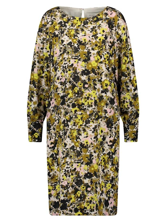 gerry weber - Kleid mit Blumenmuster  Schilf Olive Druck