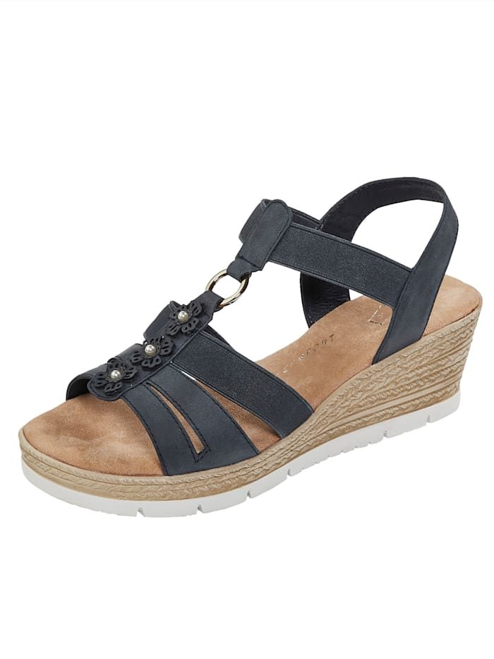 Sandaaltje Julietta Donkerblauw