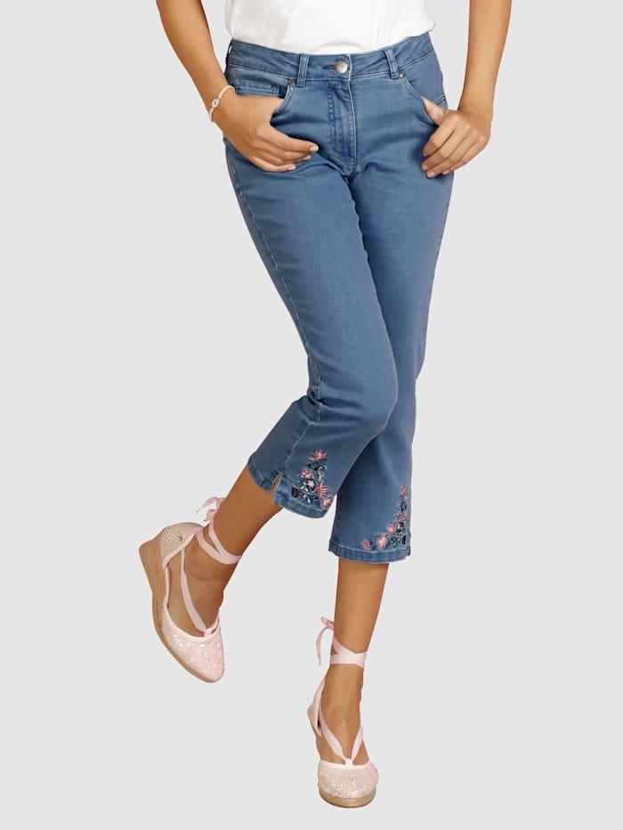 Capri-jeans Laura Kent Blauw