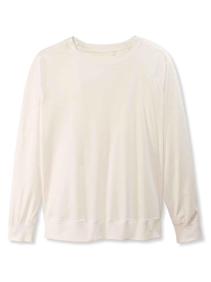 calida - Langarm-Shirt, Raglanärmel  star white