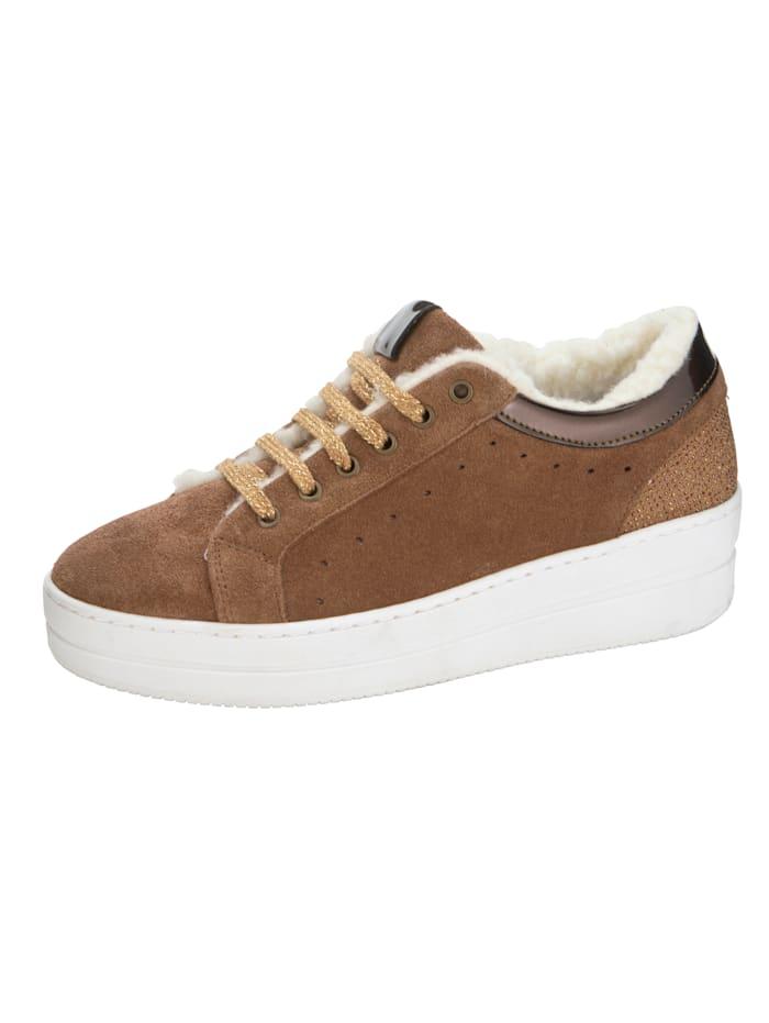 Sneaker KLiNGEL Cognac