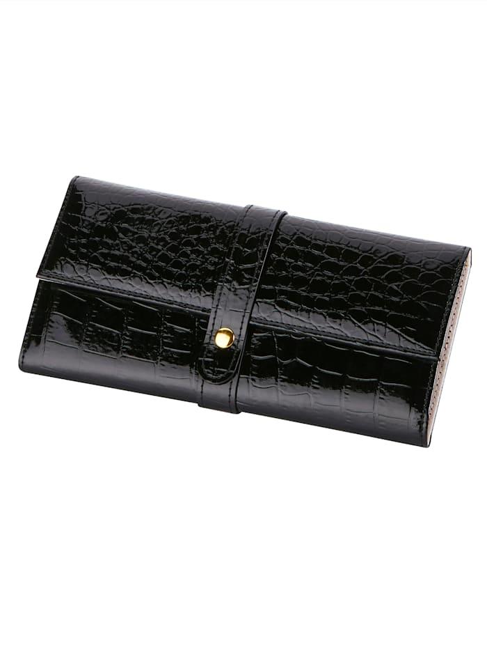 Sieradenetui Golden Style Zwart
