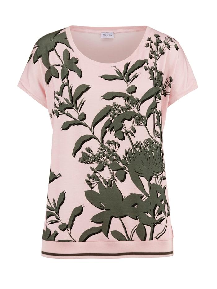 Shirt MONA Lichtroze::Olijf