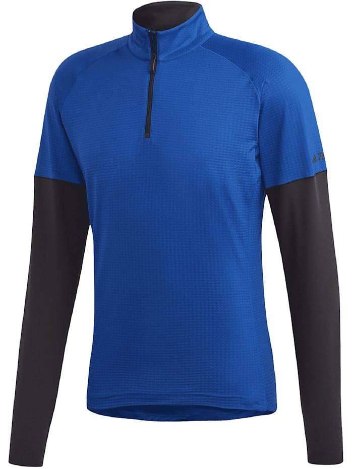 adidas -  Herren Shirt Xperior Active Longsleeve  Blau