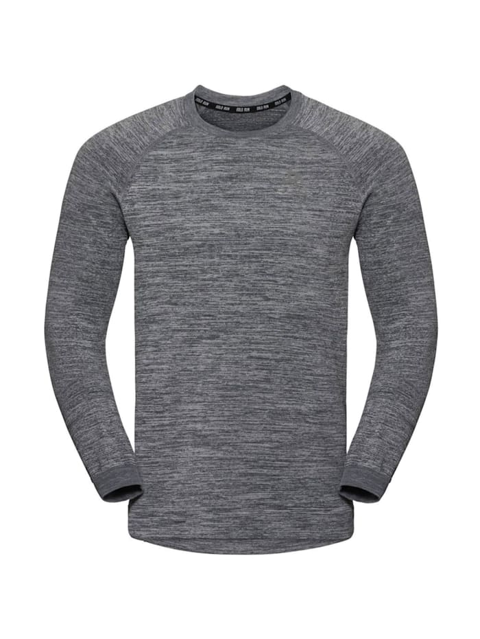 odlo -  Sweatshirt Midlayer Millenium Yakwarm  Grau