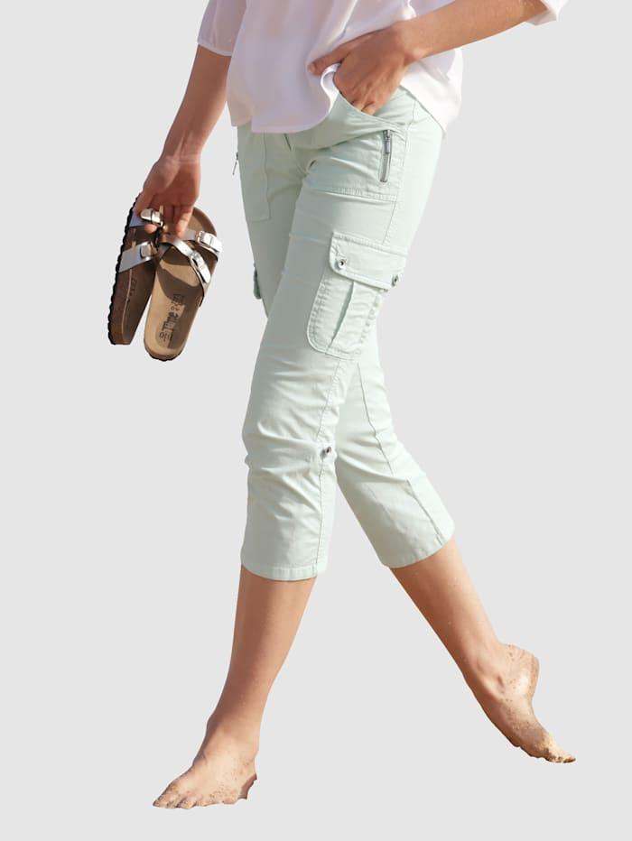 dress in - Cargohose  Mintgrün