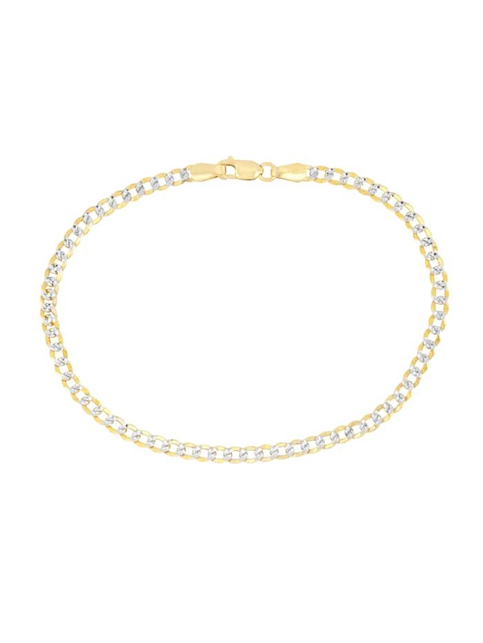 Bracelet maille gourmette Grazielli Coloris or jaune