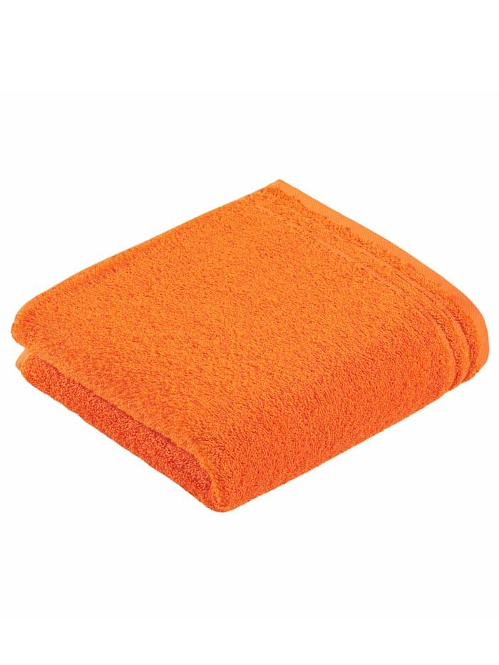 Handdoekenset effen Vossen oranje