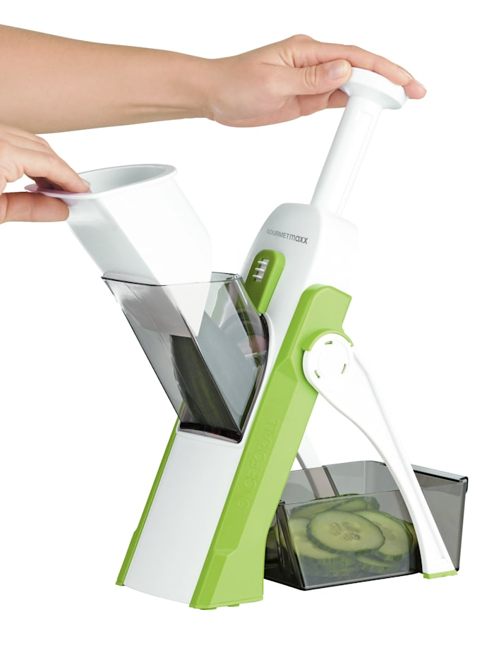 Groentesnijder Multi Slicer Push N´Ready GOURMETmaxx groen