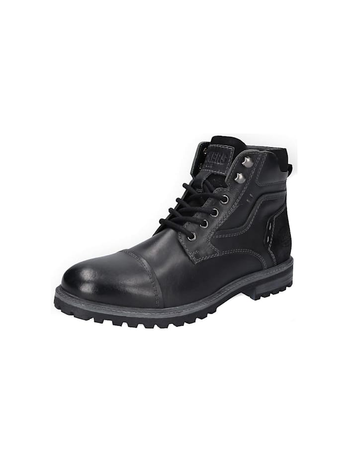 dockers - 460 Schnürstiefeletten  schwarz