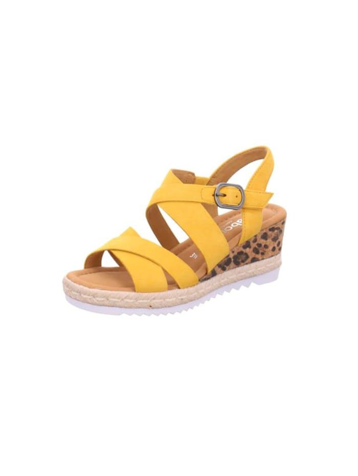gabor - Sandale Sandale  gelb