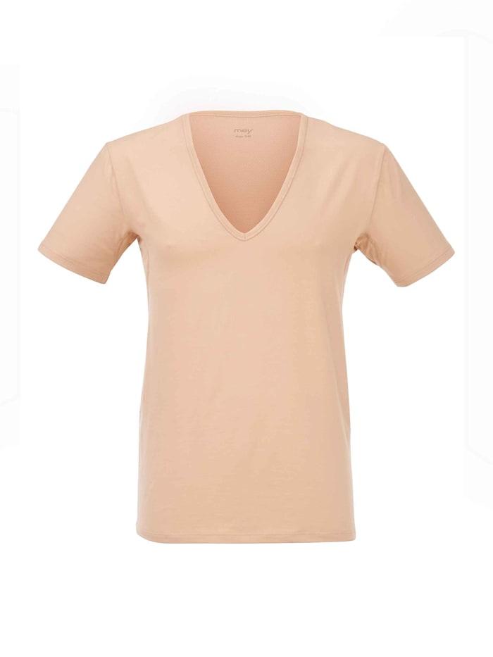 mey - Business Shirt mit V-Neck  skin