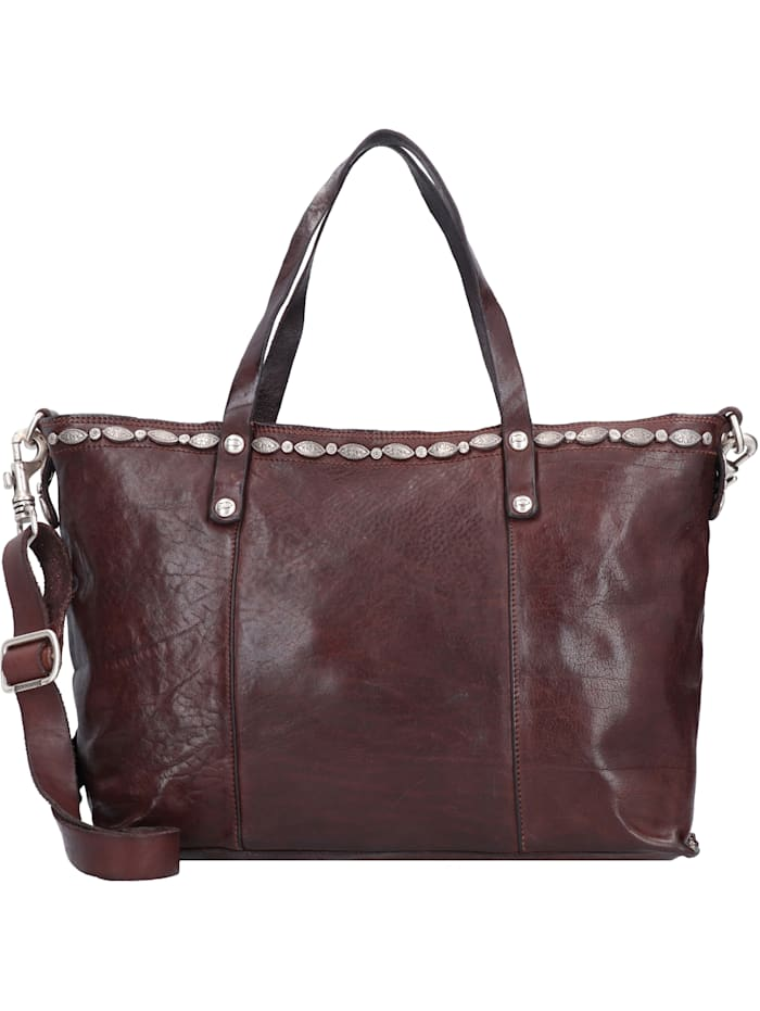 campomaggi - Shopper Tasche Leder 36,5 cm  moro