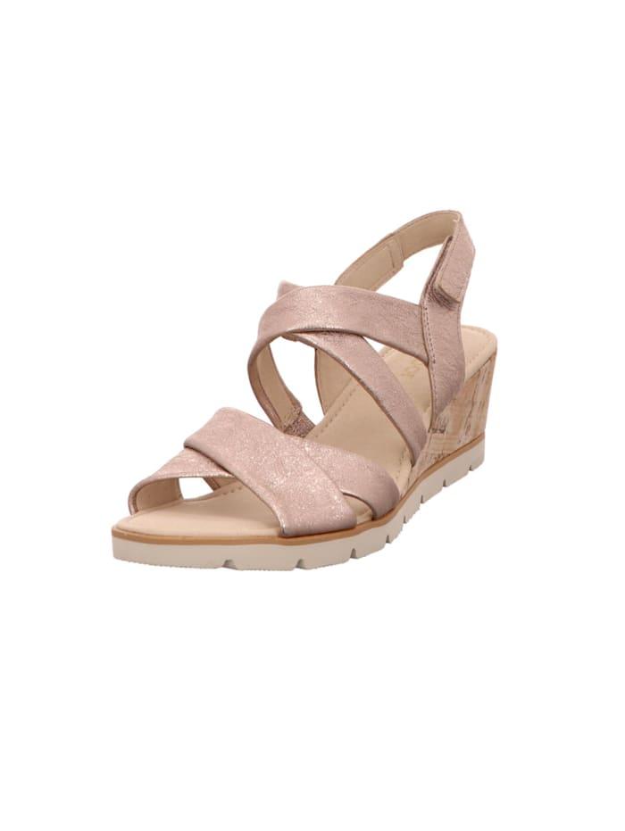 gabor - Sandalen/Sandaletten  beige