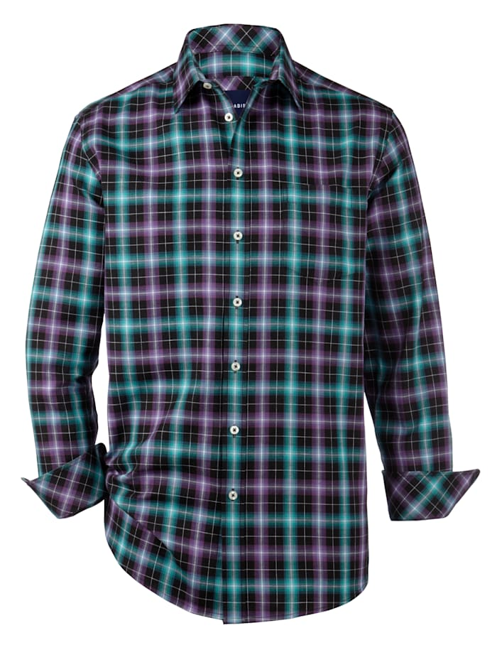 Overhemd Babista Premium Petrol  Paars