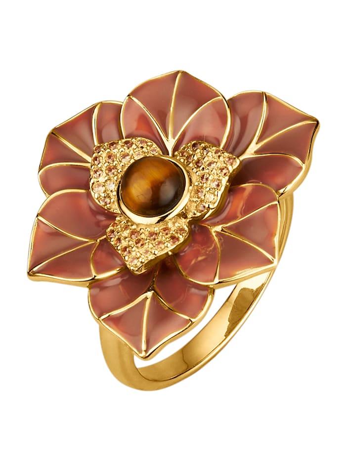 Image of Blumen-Ring KLiNGEL Braun