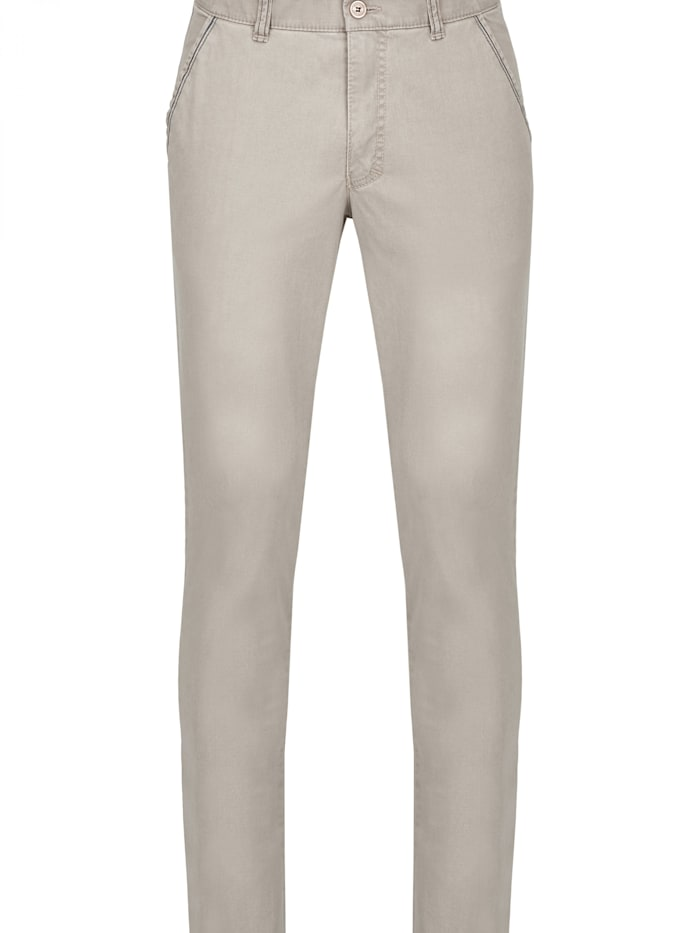 club of comfort - Stoffhose GARVEY 6701 im Casual-Look  rauchblau 45