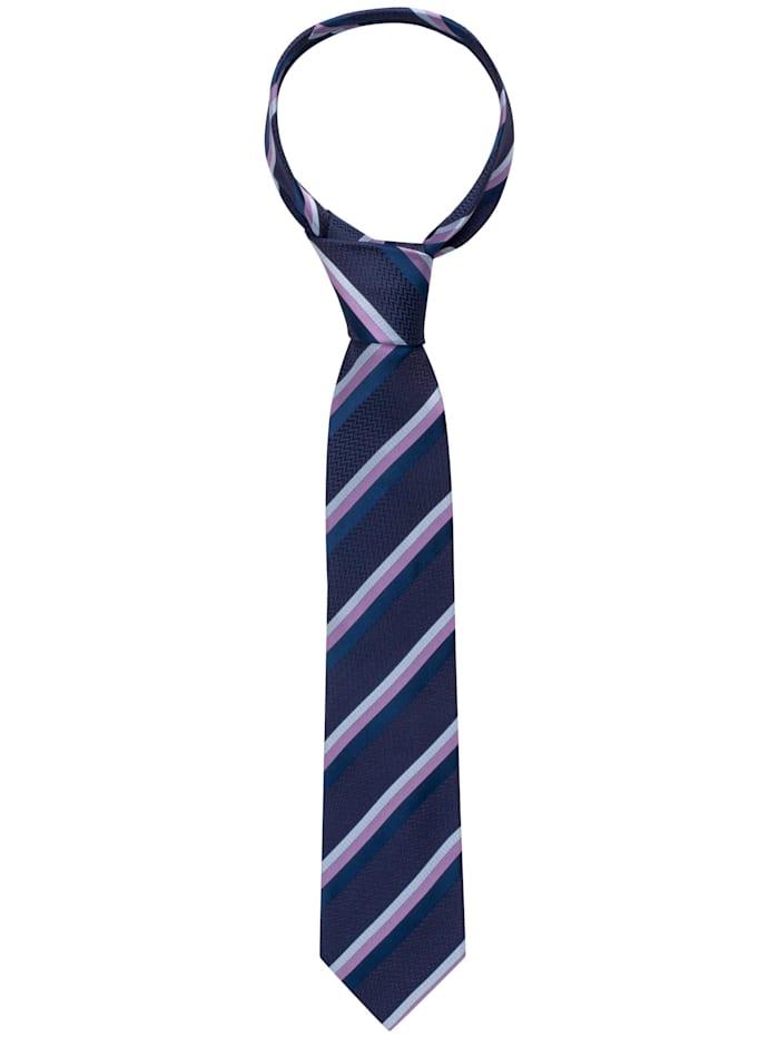 eterna -  Krawatte breit  blau/violett