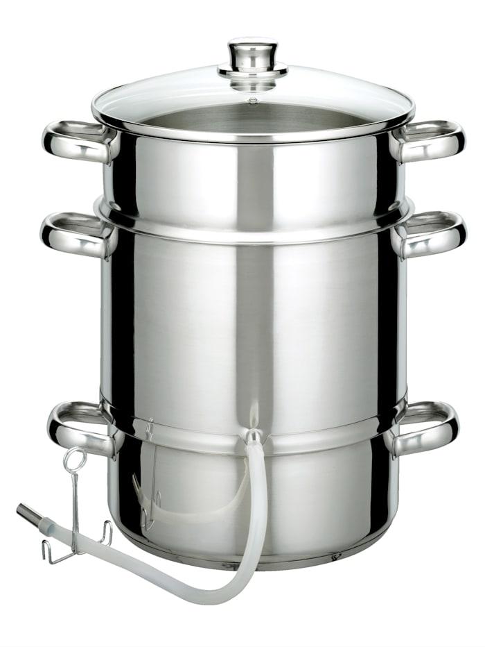 Stoomextractor GSW zilverkleur