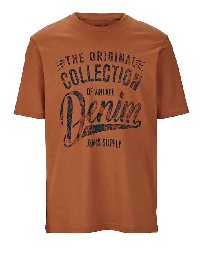 T-shirt Men Plus Terracotta