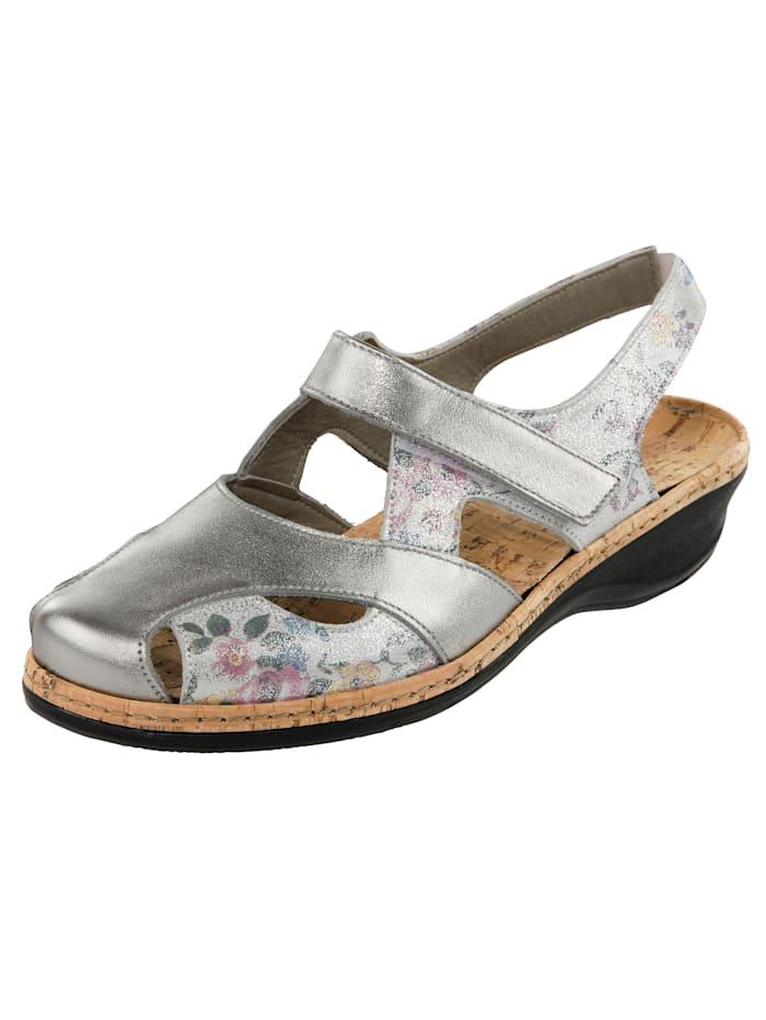 Sandales Suave Coloris argent