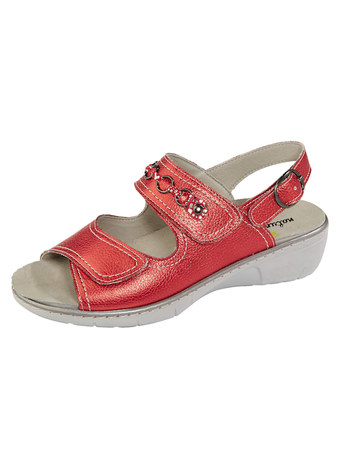 Sandaaltje Naturläufer Rood