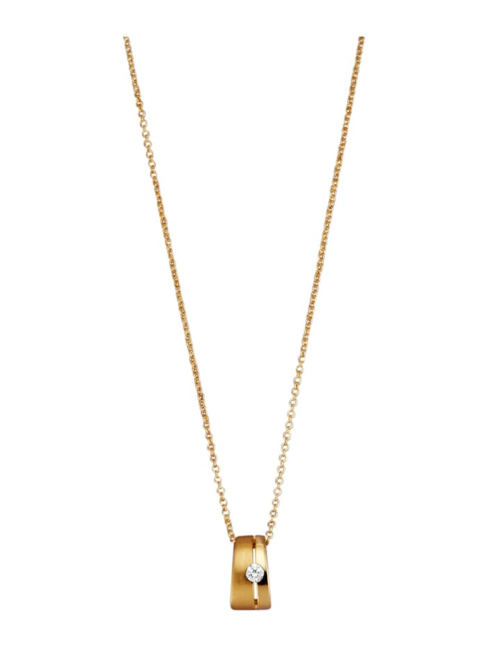 Hanger met ketting Golden Style Geelgoudkleur