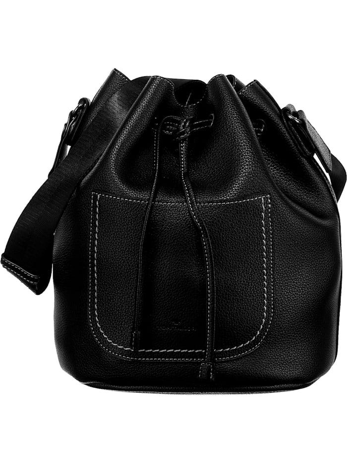 tom tailor - Julica Bucket Bag Handtasche  schwarz