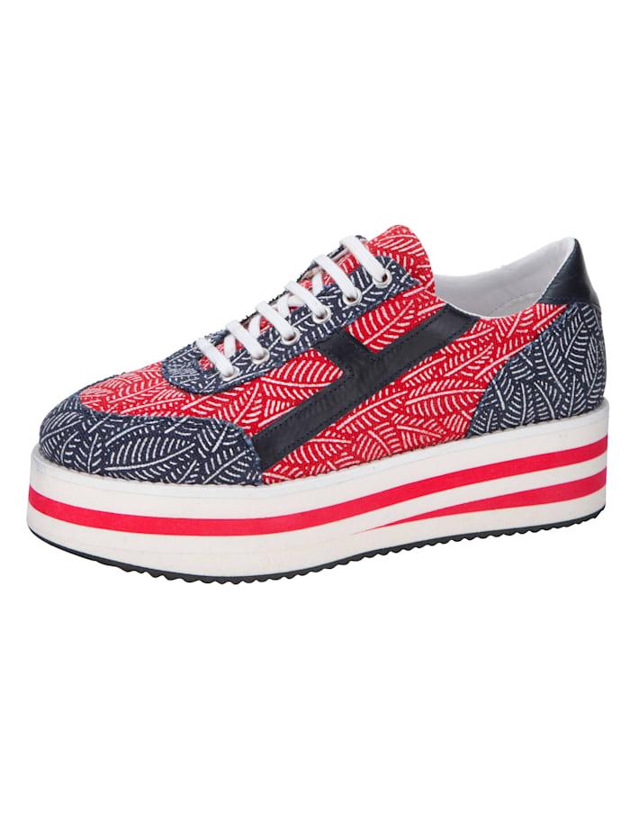 Sneaker WENZ Marine::Rood::Wit