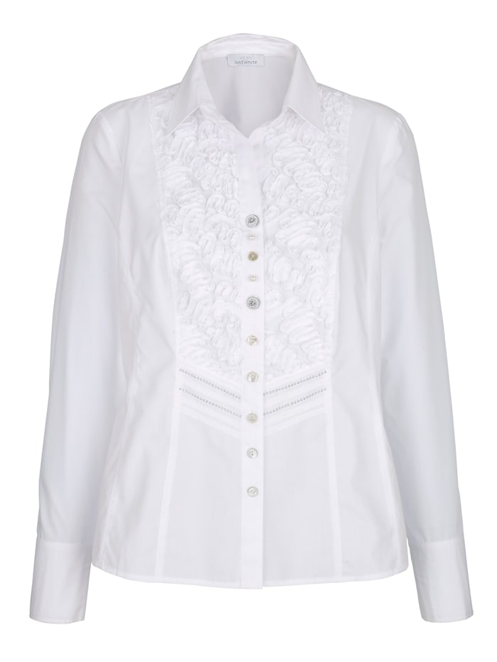 Blouse Just White Wit