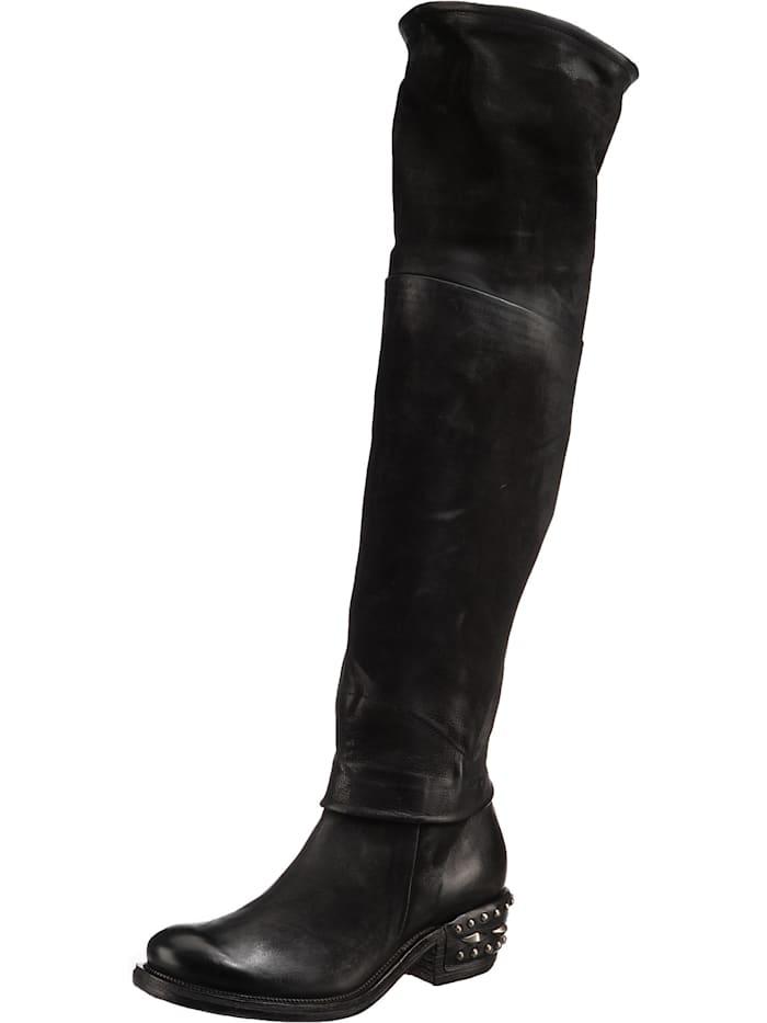 a.s.98 - Overknee-Stiefel  schwarz