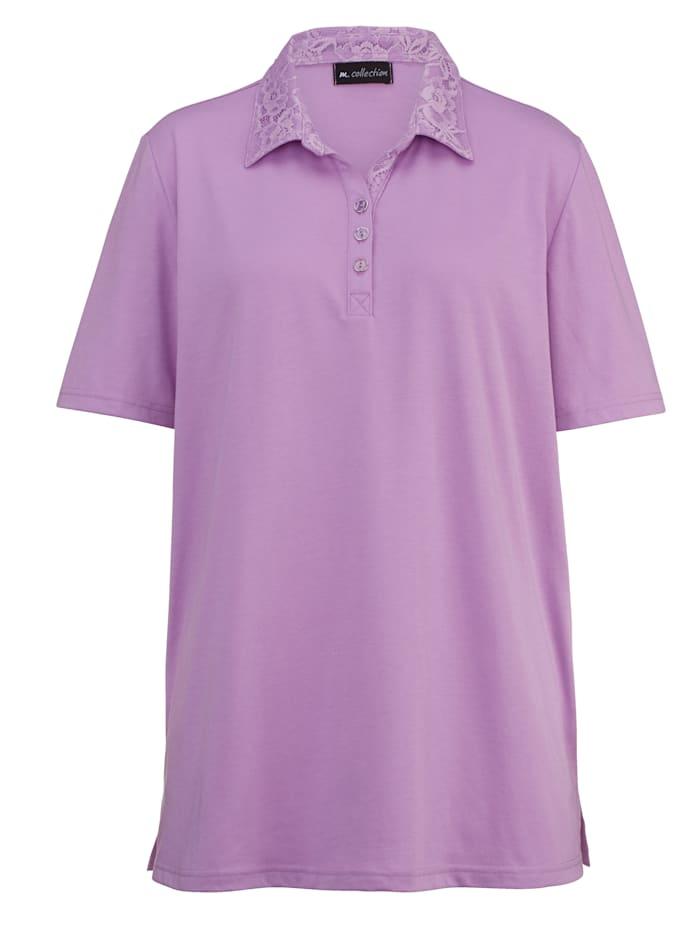 M. collection Poloshirt  Lila