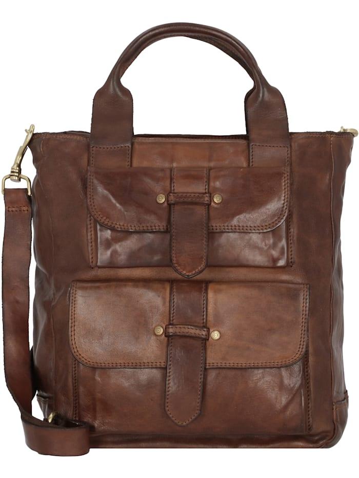 campomaggi - Handtasche Leder 28 cm  moro
