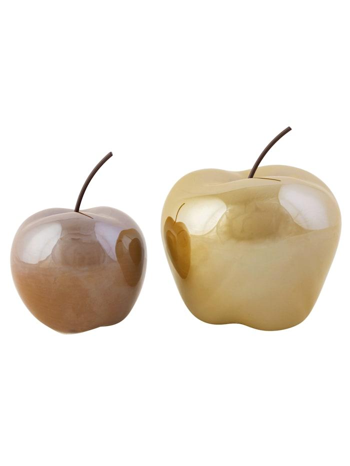 Deko-Apfel-Set, 2-tlg., Must-Have Idee 3842