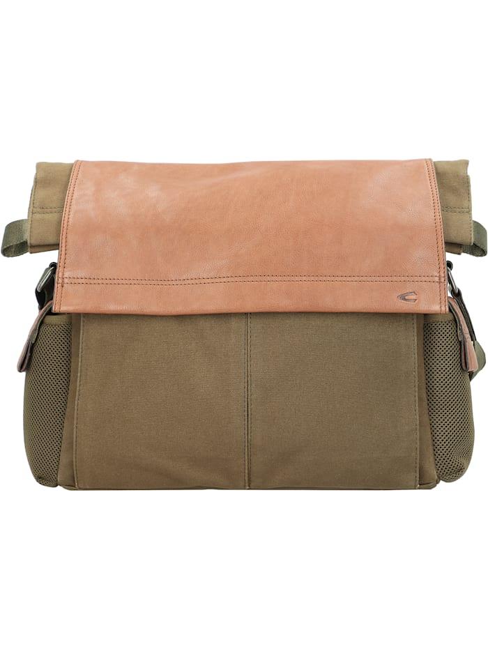 camel active - Napoli Messenger 40 cm Laptopfach  khaki