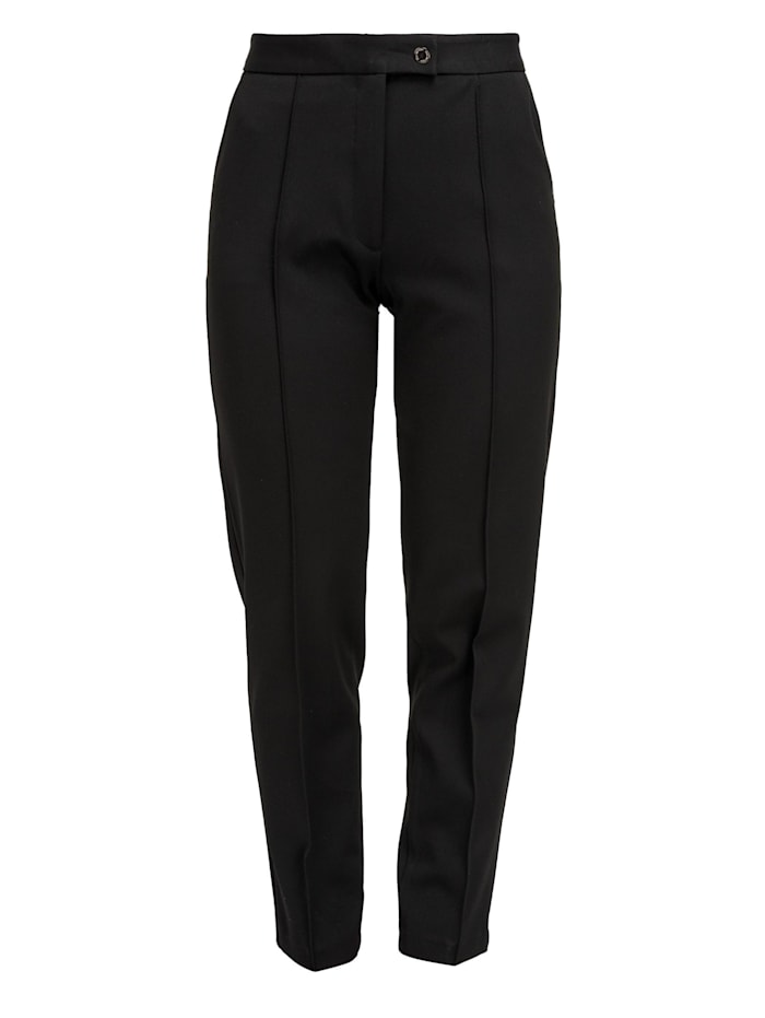 helmidge - Stoffhose Pants  schwarz