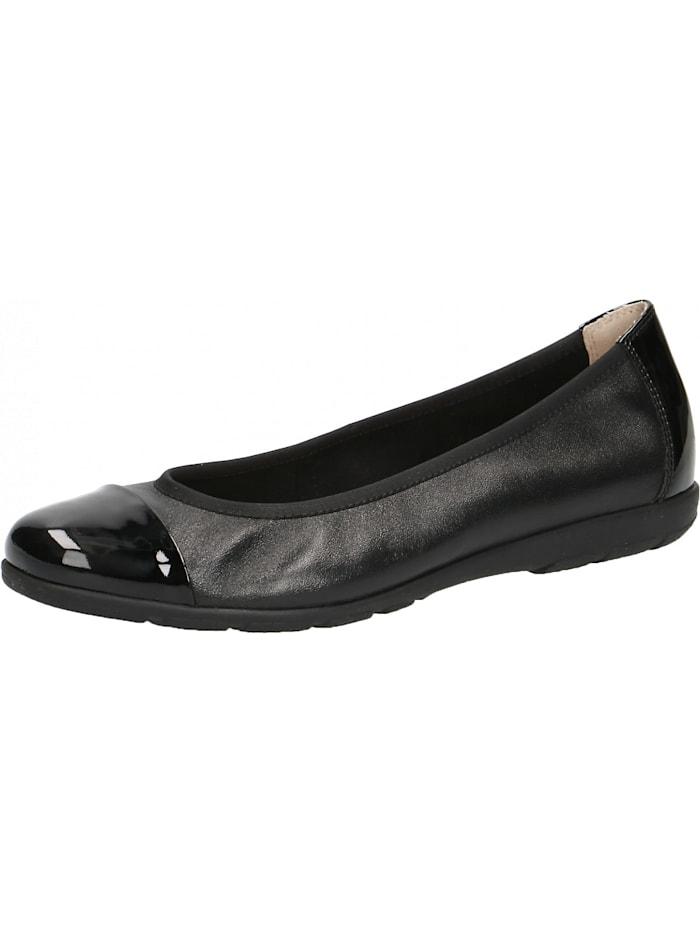 caprice - Faltbare Ballerinas  schwarz