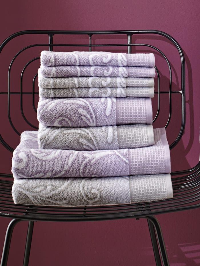 Handdoeken Azores Kleinmann paars