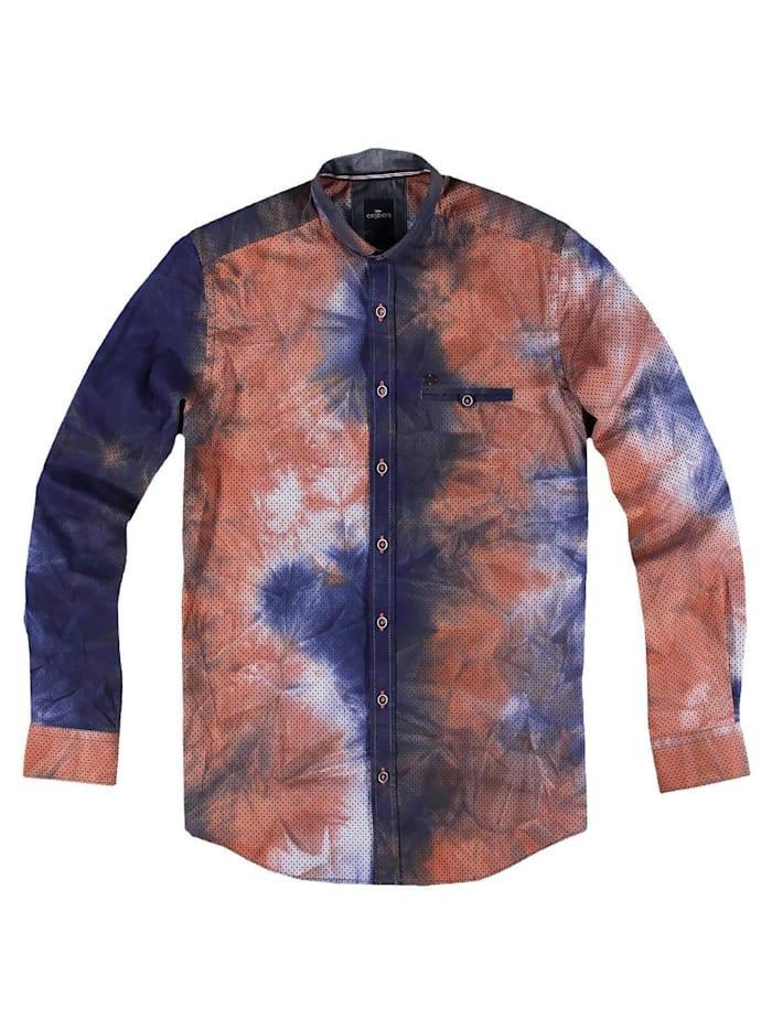 engbers - Individuell gefärbtes Langarmhemd  Tieforange