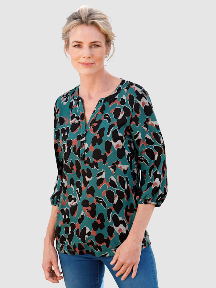 Dress In Blouse  Smaragdgroen