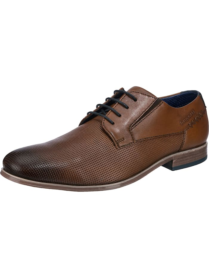 bugatti - Business Schuhe  cognac