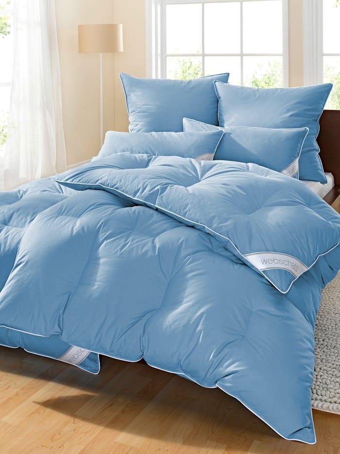 4 delige set bedlinnen Webschatz blauw