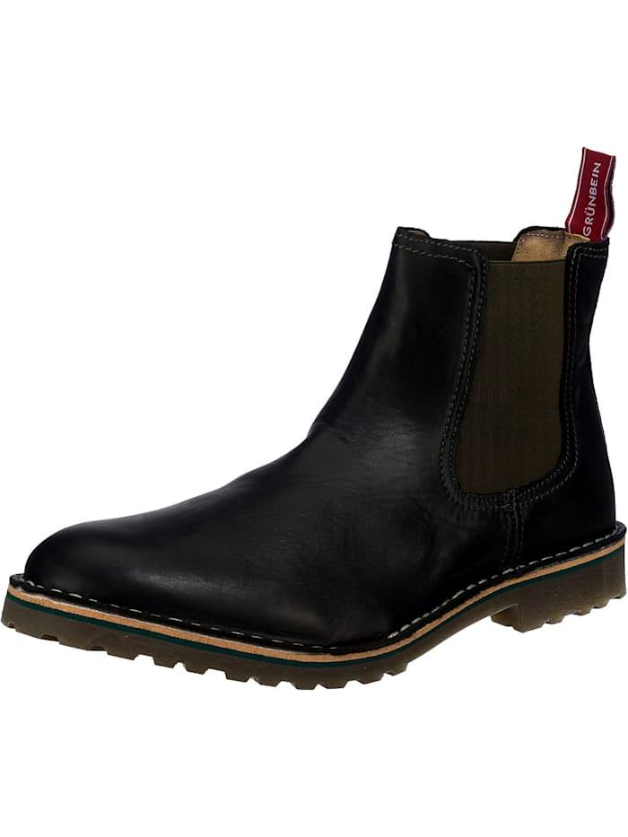 grünbein - Juri Tr Chelsea Boots  schwarz